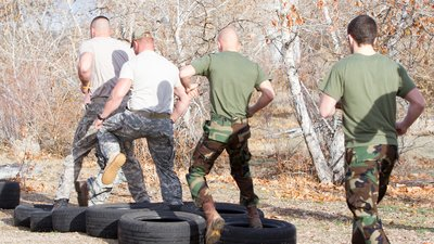 Military Style Training! Do You Have What It Takes?