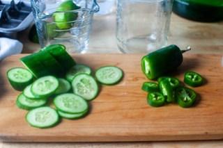 cucumber, jalapeno