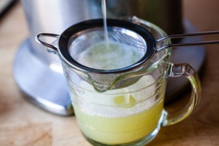 half lemon, half lime juice