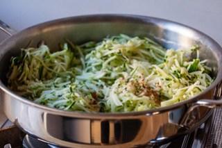 zucchini butter, the beginning